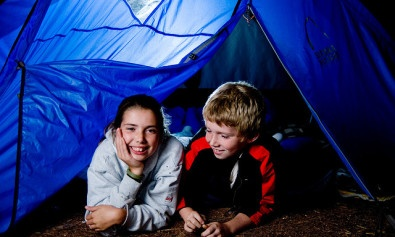 reasons to take kids camping