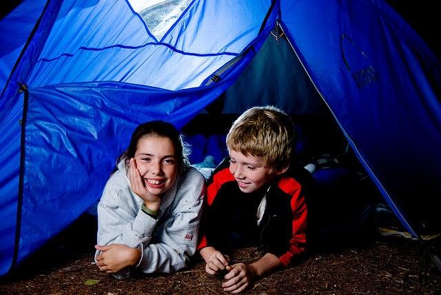 reasons to take kids camping