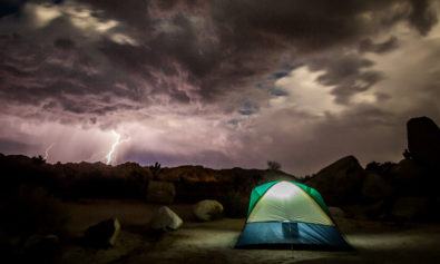 what to do when it rains camping