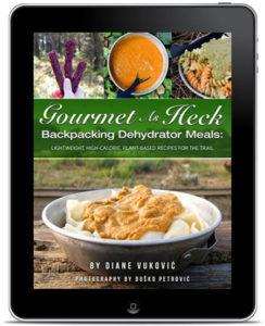 backpacking dehydrator recipes ebook