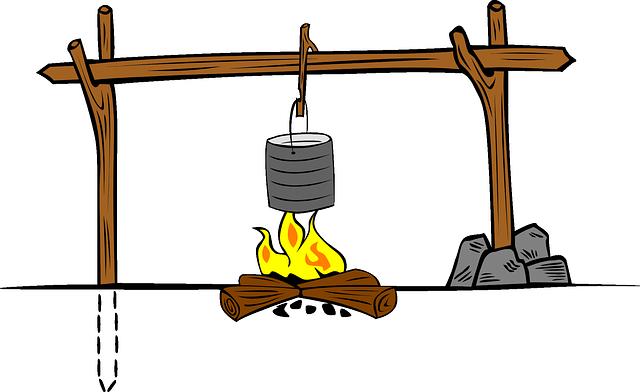 campfire cooking crane 3
