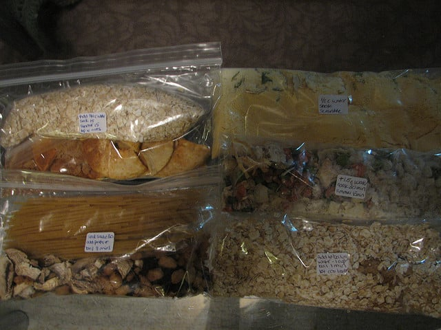 dehydrated backpacking food