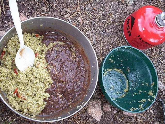 tabouli backpacking food