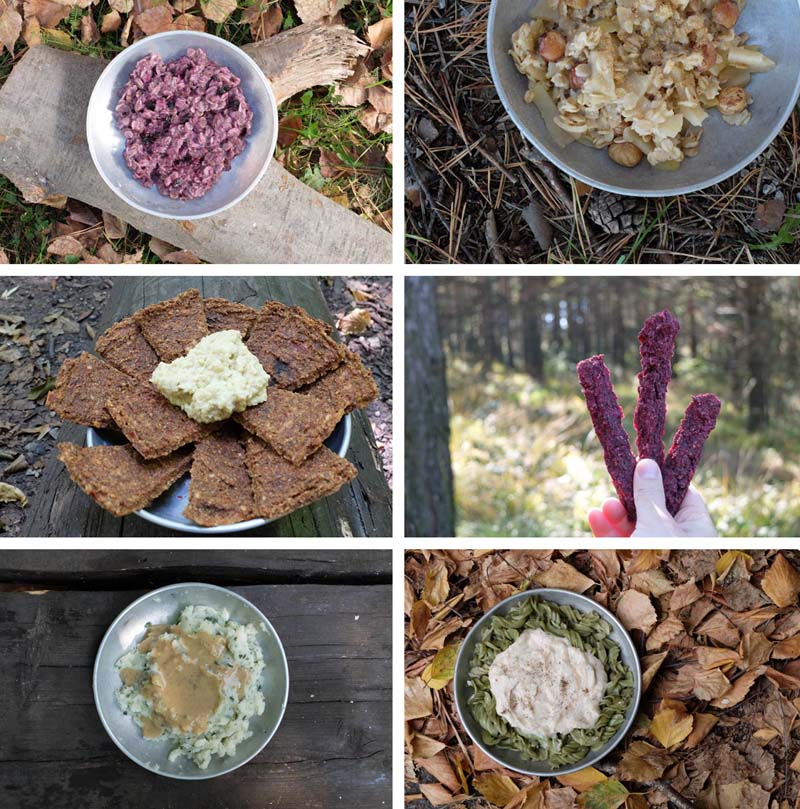 backpacking meals and food