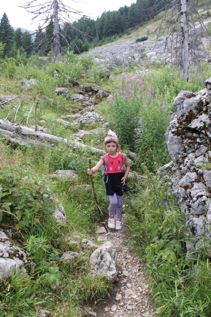 Hiking in Rugova Gorge, Kosovo