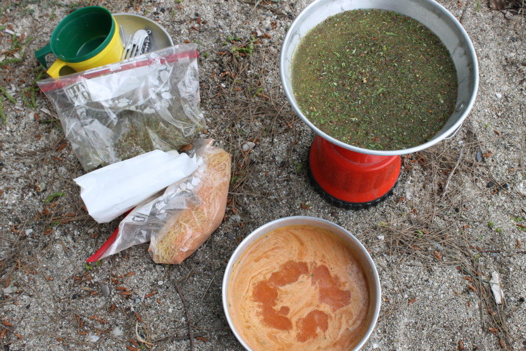backpacking soup