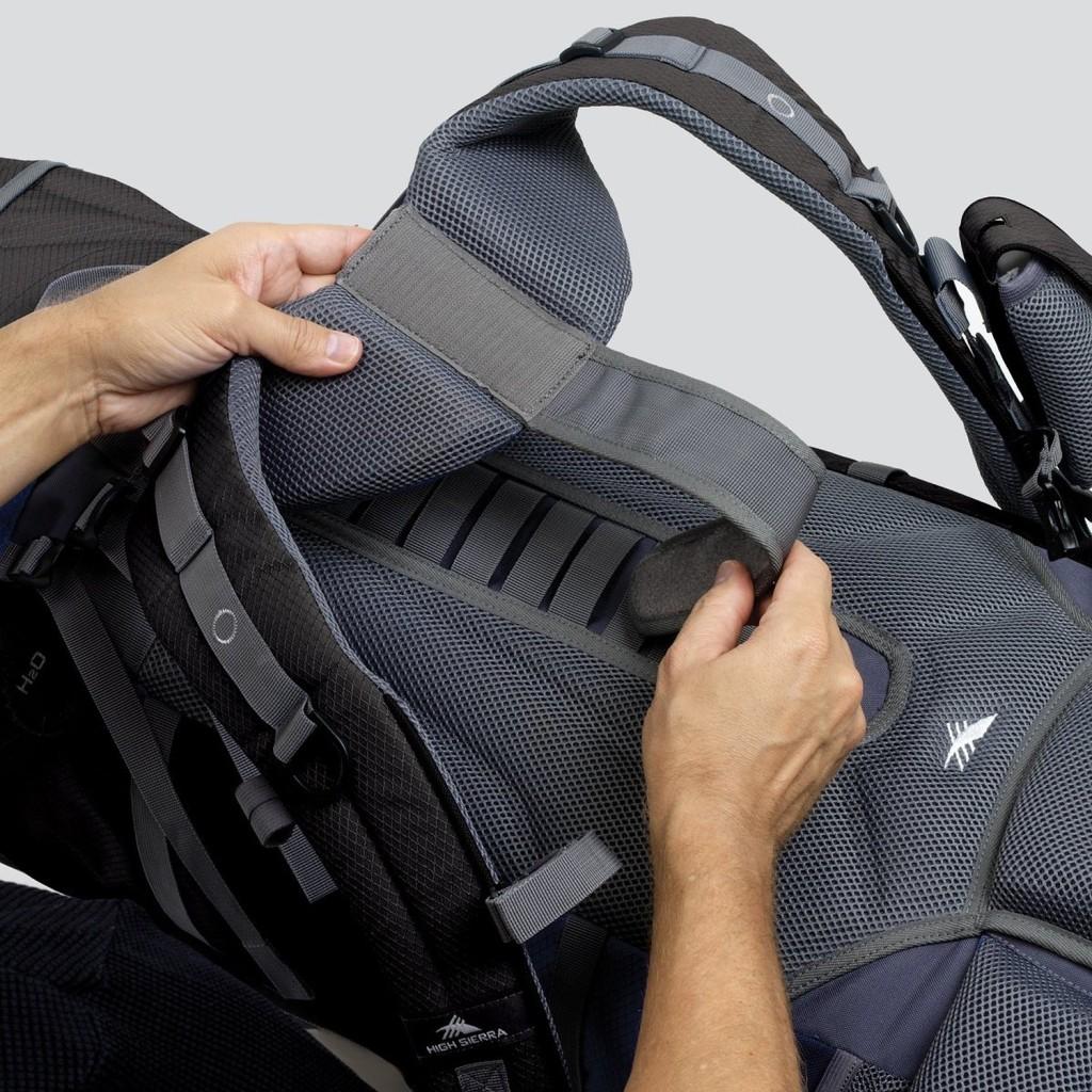 adjustable torso length backpack