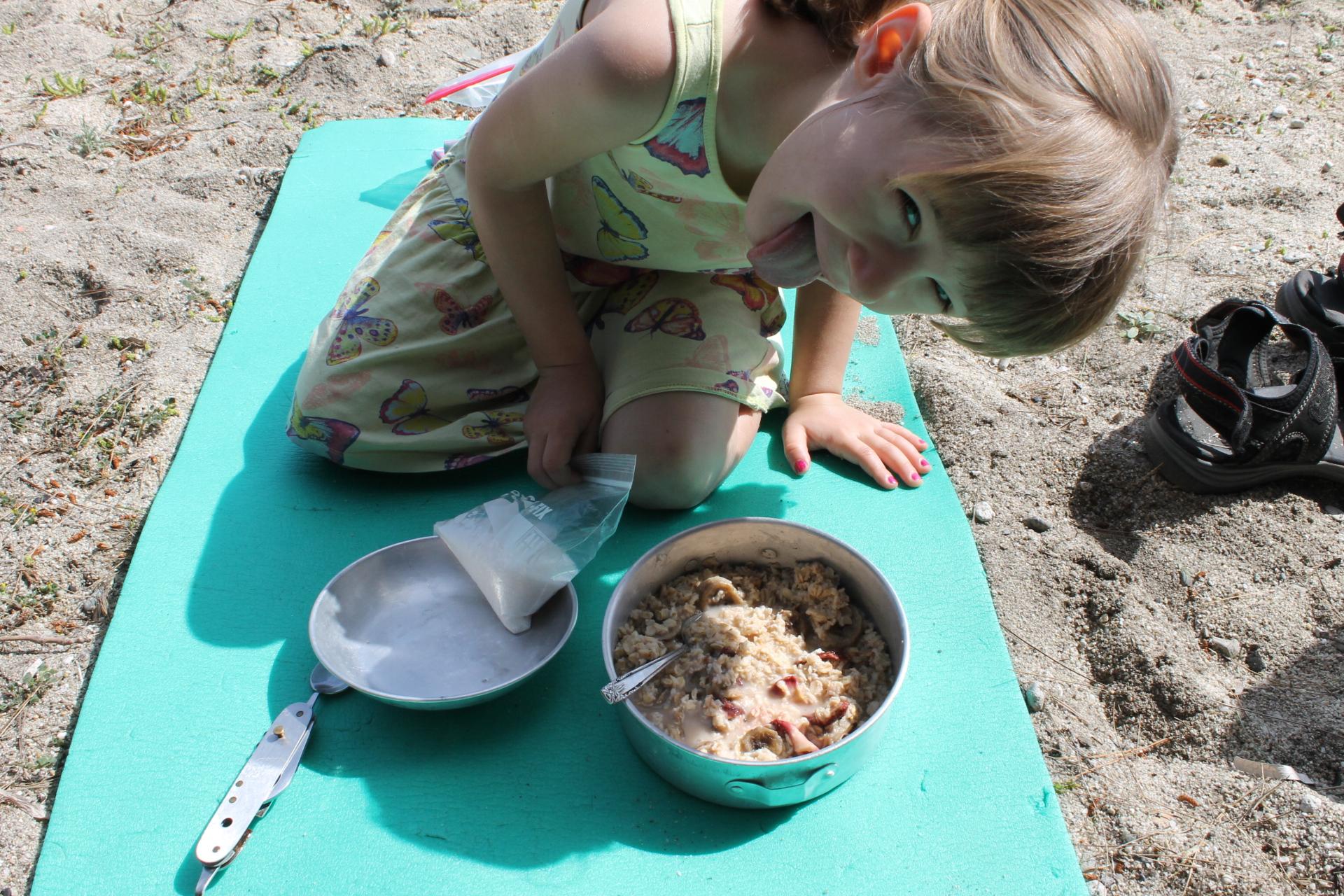backpacking oatmeal