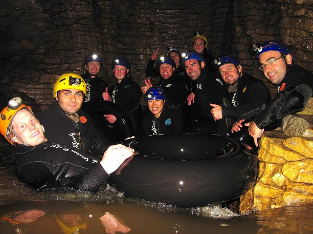 When going black water rafting inside of a cave, you need a headlamp with a high IPX rating!