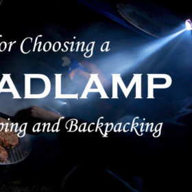 choosing a headlamp for camping and backpacking
