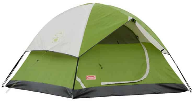 This 4-person Coleman tent is great if you want quality on a budget. You can buy it here for $62
