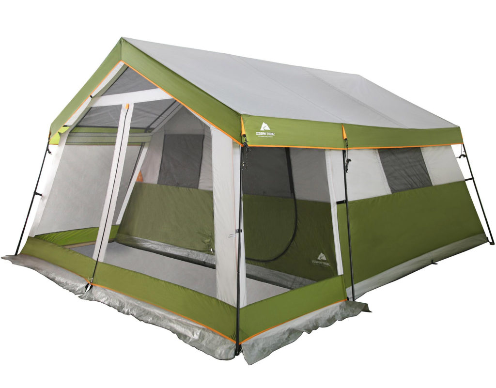Cabin tent  sc 1 st  Mom Goes C&ing & The 15 Minute Guide to Buying a Tent - Mom Goes Camping