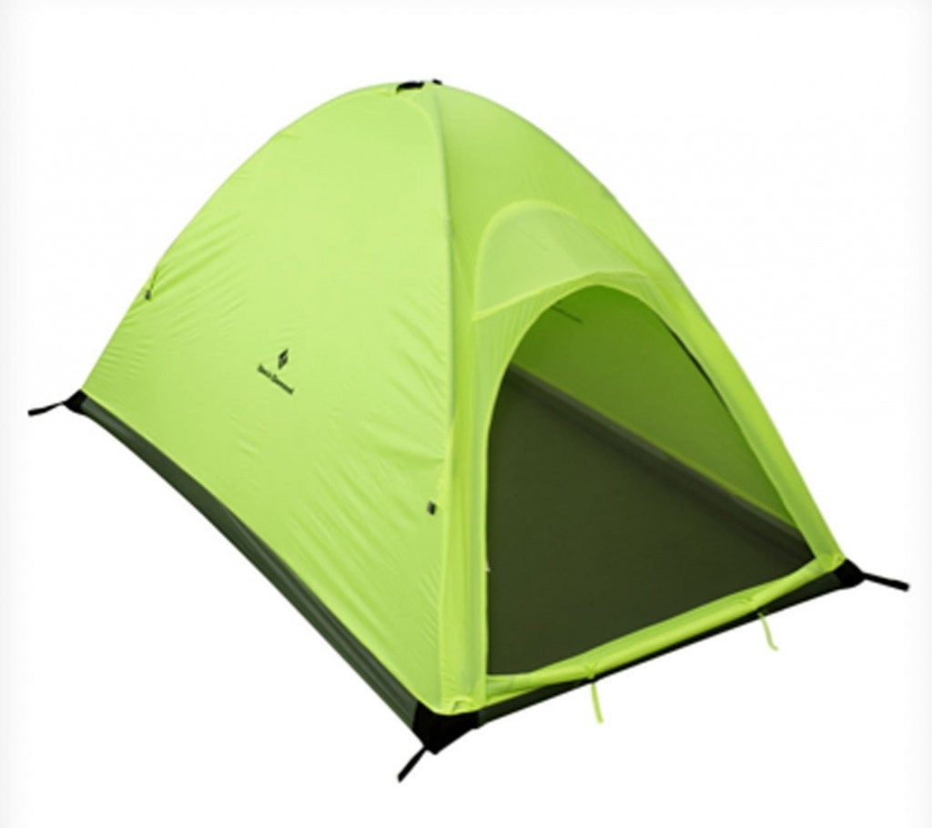 A single wall tent