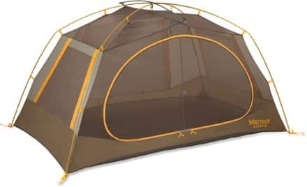 This 2-person tent has 34.5 sq. feet of floor space