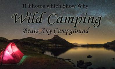 wild camping photos