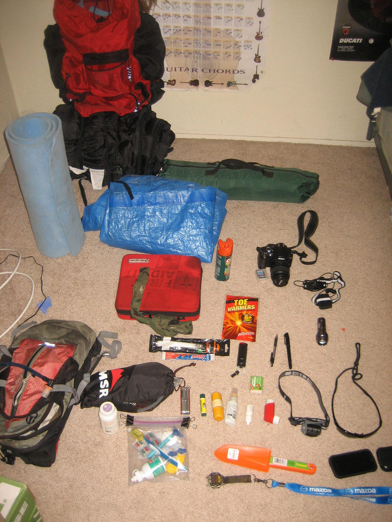 Backpack Shakedown Here S What 7 Real Backpackers Carry