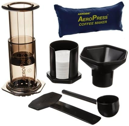 portable coffee maker by aeropress
