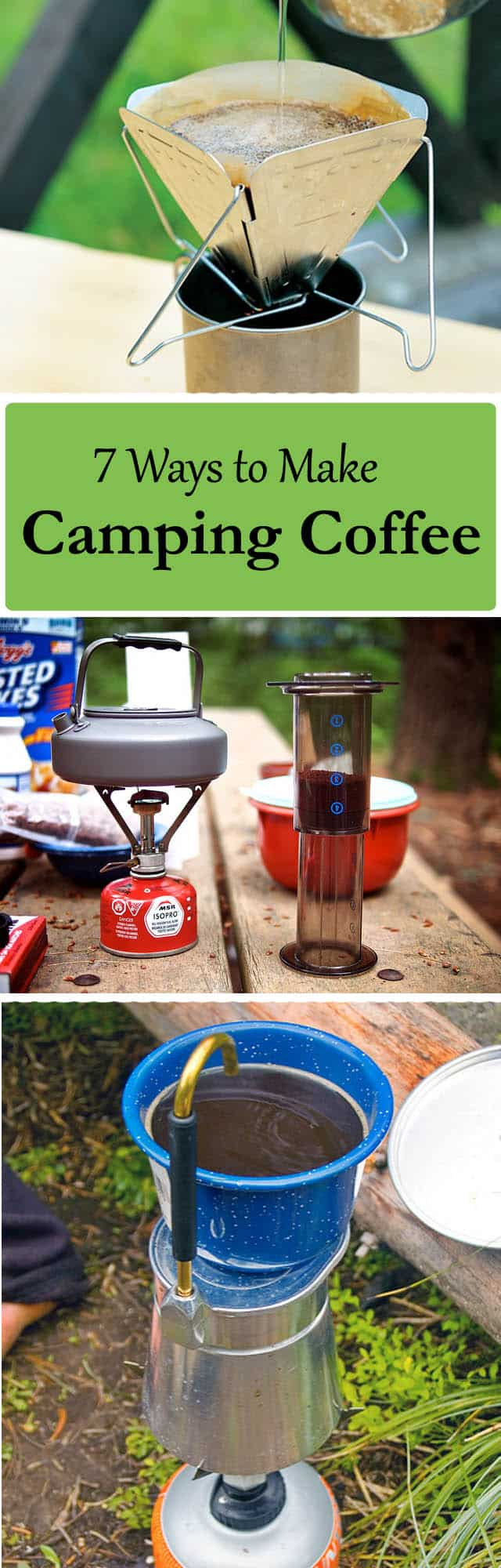 how to make camping coffee 7 ways