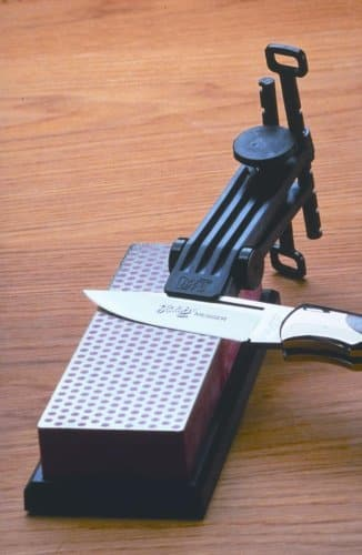 DMT knife sharpening guide