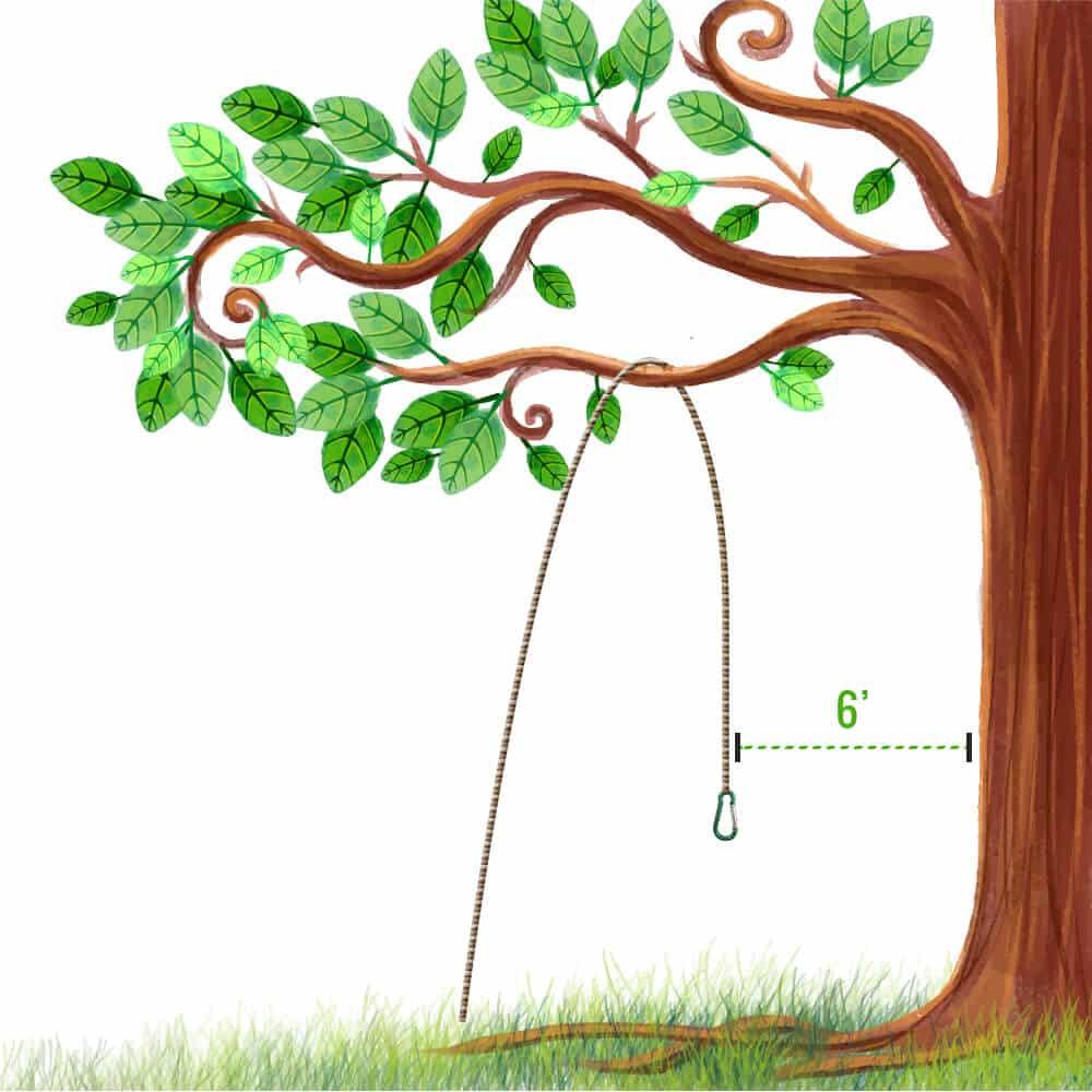 PCT bear hang step 1