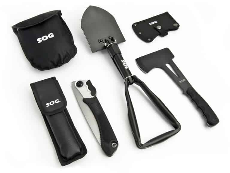 SOG camping tool kit