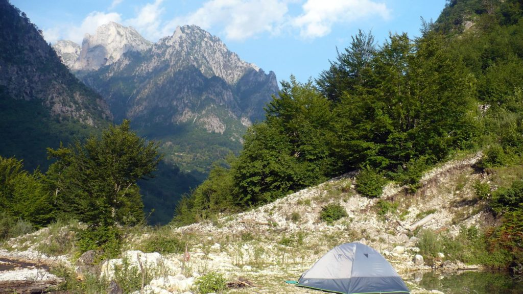 rilinjda at Valbone mountain in Albania