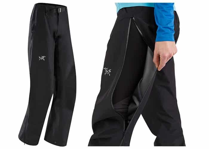 Arc'teryx Zeta LT waterproof pants womens