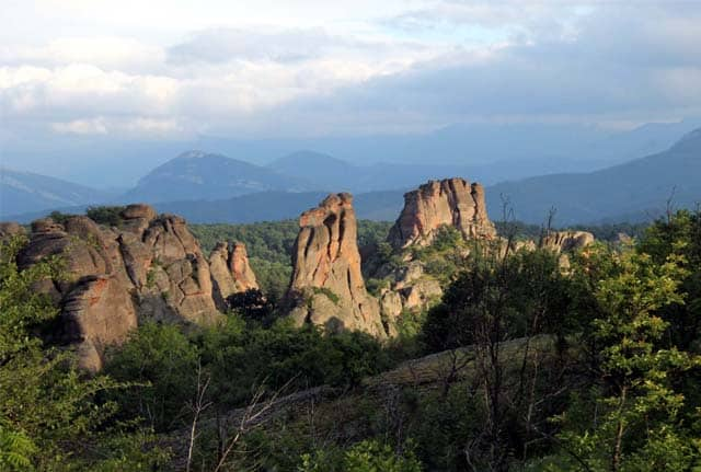camping in belogradchik bulgaria