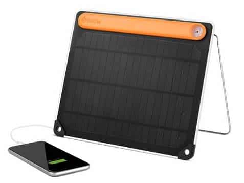 Biolite solar panel with battery