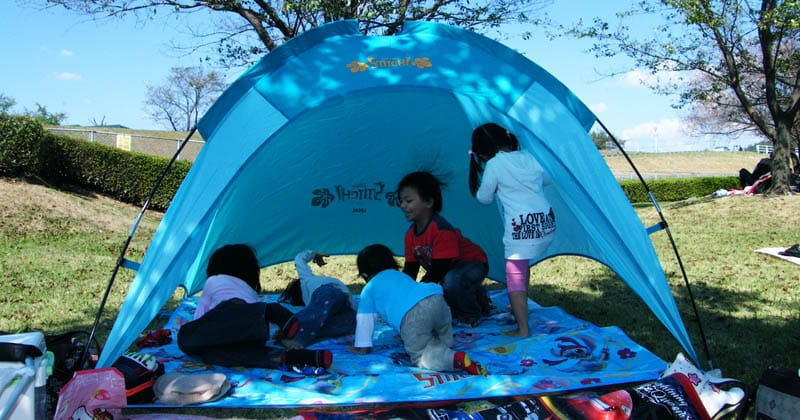 make camping with kids easier