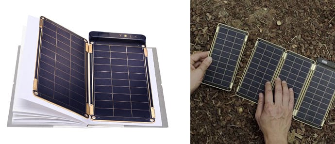 Yolk Solar Paper lightweight portable solar charger