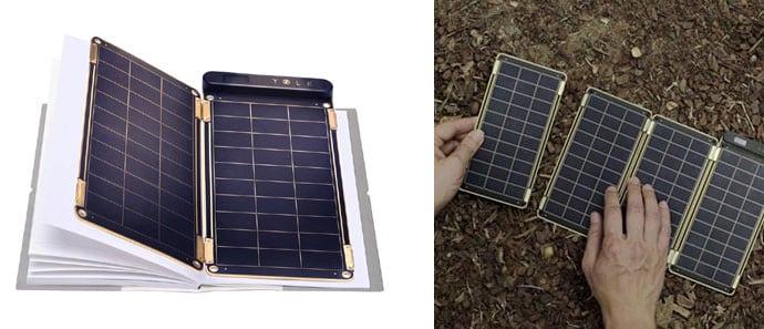 Yolk Solar Paper lightweight portable solar charger