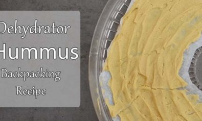 dehydrator hummus backpacking recipe