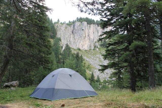 camping in Rugova