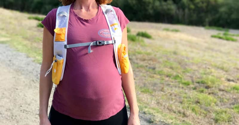 backpack while pregnant