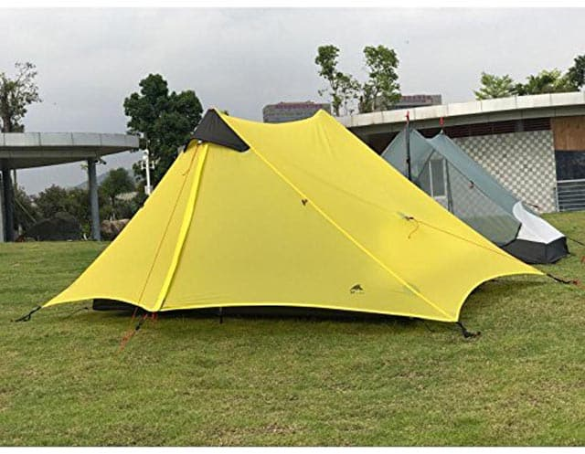 CreHouse affordable trekking pole tent