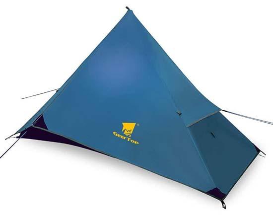 geertop pyramid 1P trekking pole tent