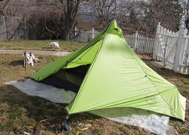Nemo Meta 31oz Trekking Pole Tent (1 Person) & The Best Trekking Pole Tents - Mom Goes Camping