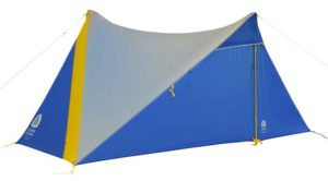 Sierra Design High Route tent closed doors