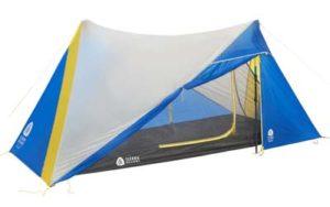Sierra Designs trekking pole tent