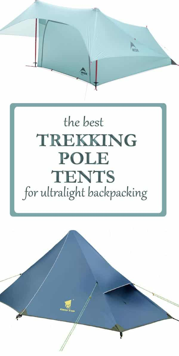 the best trekking pole tents for ultralight backpacking