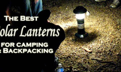 best solar lanterns for camping and backpacking