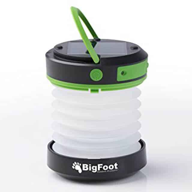 Bigfoot solar lantern