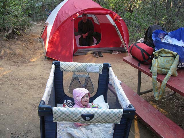 Pack n Play for camping