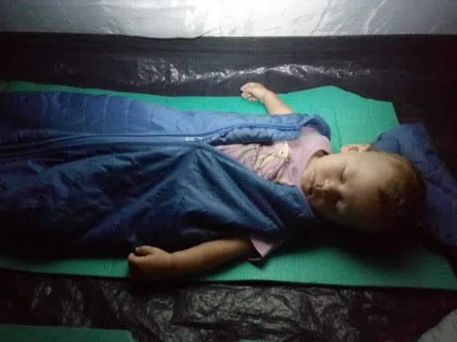 BabyDeeDee camping sleeping bag