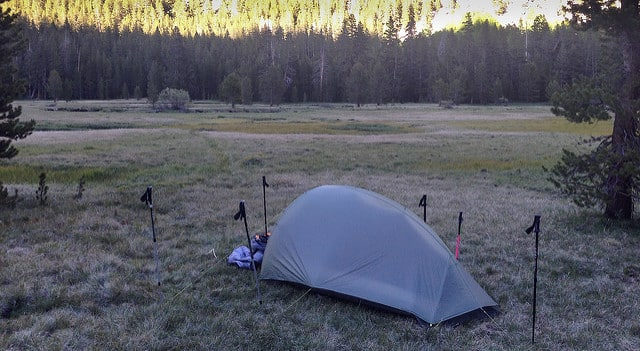 temperature fluctuations during camping
