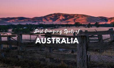 best camping spots australia
