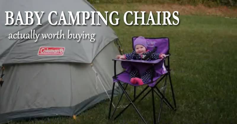 best baby camping chairs