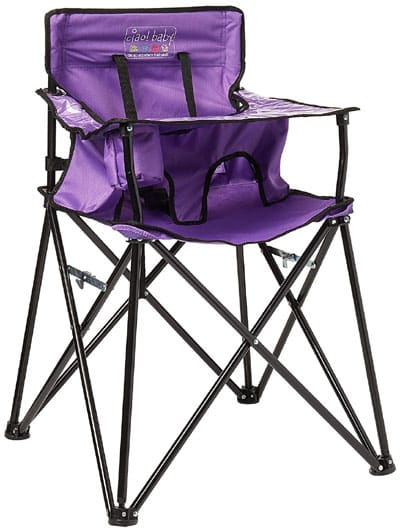 Ciao baby portable high chair for camping