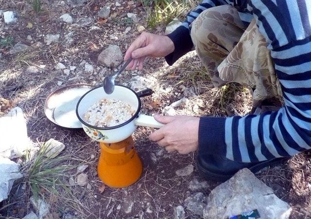 bad camping pot